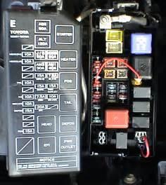factory fog lamp re wire mod 3rd gen 4runner yotatech