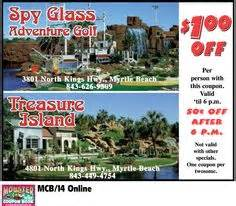 treasure island buffet coupons shipwreck island adventure golf myrtle resorts coupons for myrtle