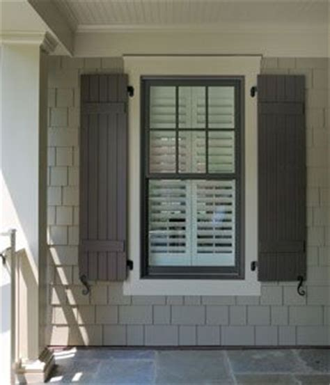 brown window and shutter trim taupe siding colors for ginny shutters