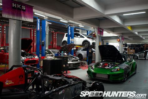 the garage auto car builder gt gt the cars of hks garage r speedhunters