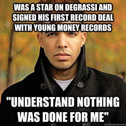 Drake Degrassi Meme - scumbag drake memes quickmeme