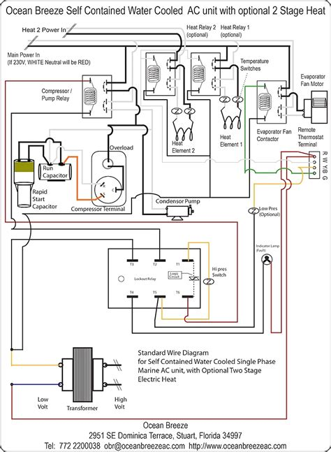 trane compressor wiring diagram single phase refrigeration