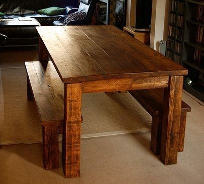 farmhouse table and bench set custom farm table and bench set by tall timber furniture custommade com kitchen