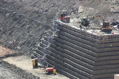 geosynthetics in mining applications: reinforcement