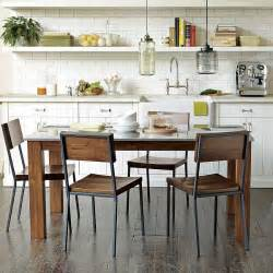 Rustic Kitchen Table Set The Of Rustic Industrial Kitchens