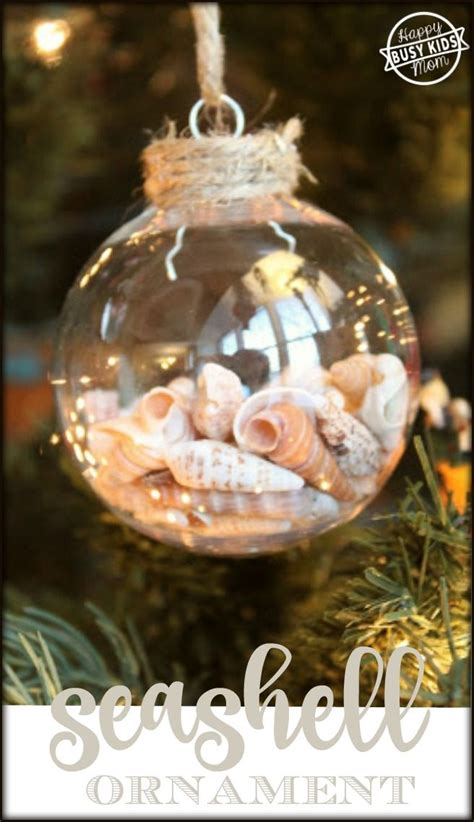 how to make an ornament 25 best ideas about seashell ornaments on