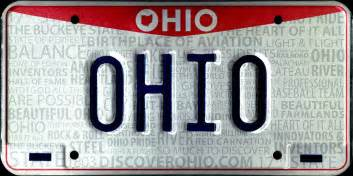 ohio new car registration vehicle registration plates of ohio wikiwand