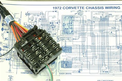 c3 corvette instrument panel wiring diagram engine wiring