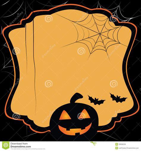 imagenes de halloween para invitaciones tarjeta simple para halloween im 225 genes de archivo libres
