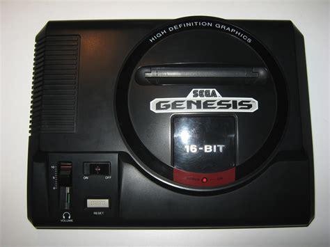 sega genesis console sega genesis system console ntsc usa nightfall