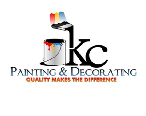 painting and decorating k c painting decorating logo design contest logos by