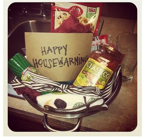 housewarming basket idea new new home gifts