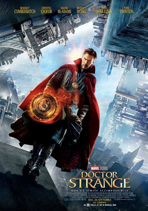 film marvel ita doctor strange il poster italiano ufficiale del film
