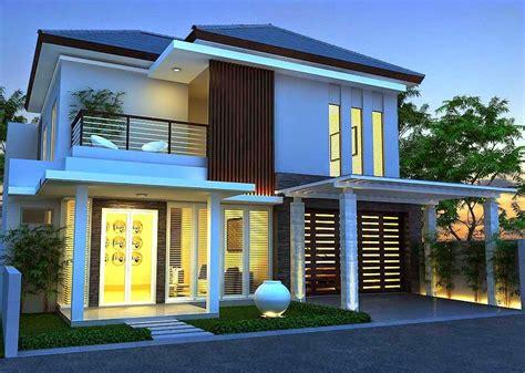 75 contoh desain rumah minimalis 2 lantai yang nak mewah dan modern 3000 rumah minimalis