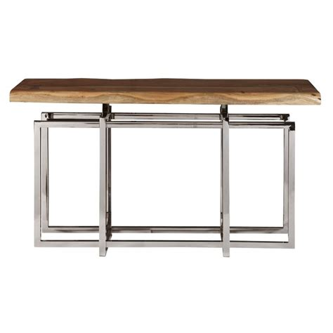 gemini console pulaski gemini console table in brown p050452