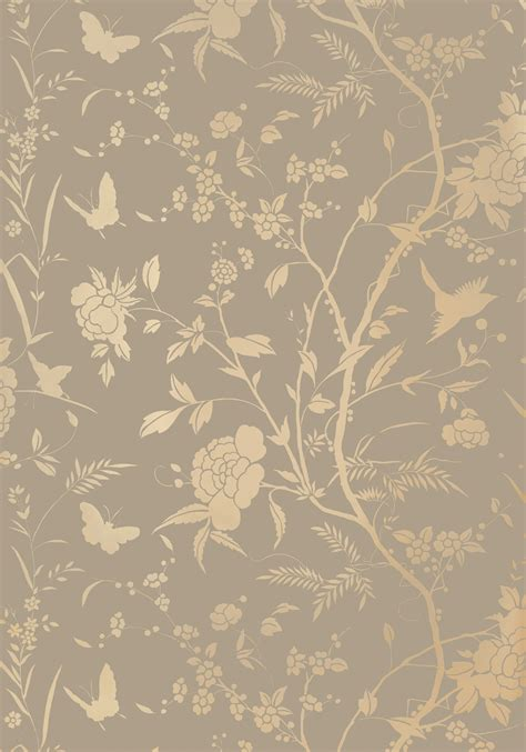 Gold Wallpaper Metallic Uk | thibaut enchantment liang grey and gold with metallic