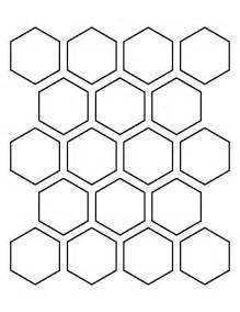 hexagons templates 25 best ideas about hexagon pattern on color