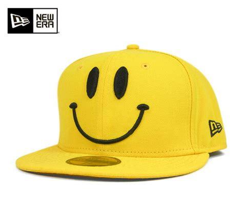 Smile Cap 楽天市場 ニューエラ キャップ スマイル イエロー 帽子 new era 59fifty cap smile
