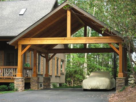 Wooden Car Ports by 17 Best Ideas About Carport Plans On Carport