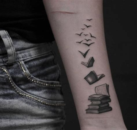 book tattoo design 40 amazing book tattoos for literary wings