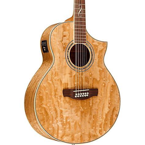 Akustik Elektrik Ibanez Jumbo Sunbrush ibanez wood series ew2012asent 12 string acoustic