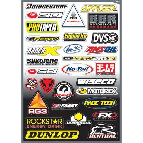 Sponsoren Aufkleber Quad by Planche Sticker Motocross Sponsor D Sur Motocross Access