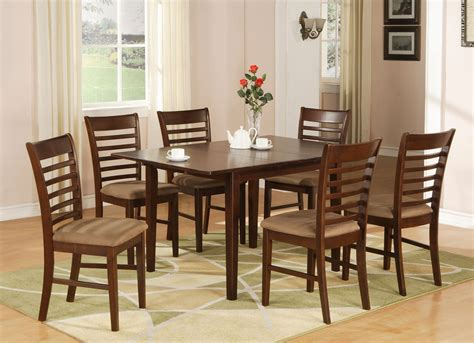 7 pc rectangular dinette kitchen milan 7 pc rectangular dinette dining table set 36 quot x 54 quot with 12 quot extension leaf sku m7 mah