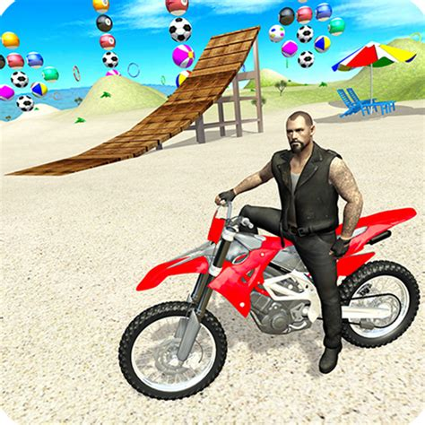 sahilde motosiklet goesterisi oyunu motor oyunlari