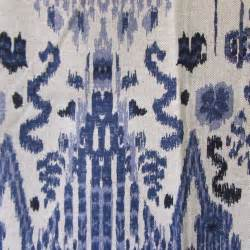 Blue Ikat Curtains Fresh Diy Ikat Curtains Blue 19330