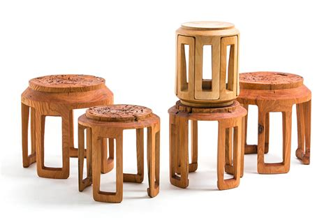 bamboo furniture by taiwanese studio scope design
