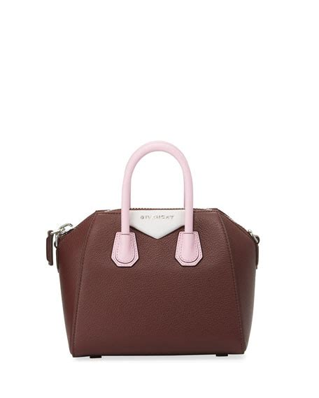 Givenchy Antigona Medium Pink givenchy antigona medium leather satchel bag