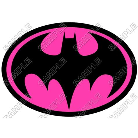 printable iron on logos printable pink batman logo www imgkid com the image