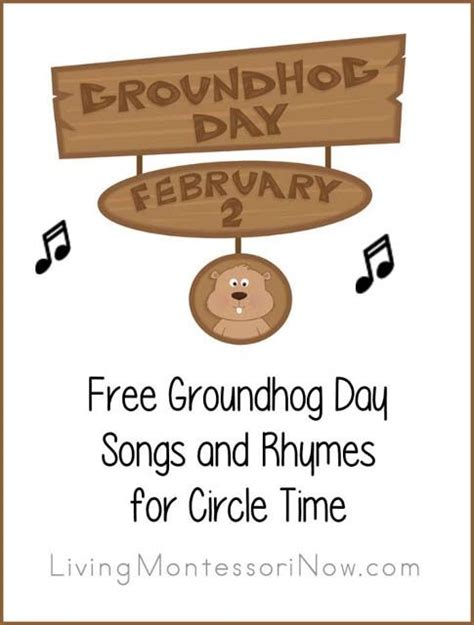 groundhog day song free groundhog day songs and rhymes for circle time