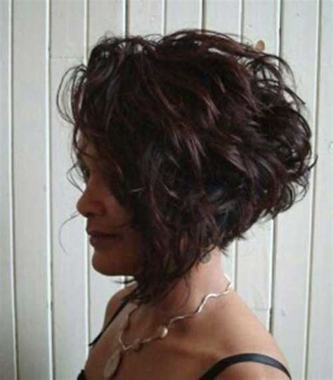 chopped wedge bob hair 20 very short curly hair short hairstyles 2016 2017