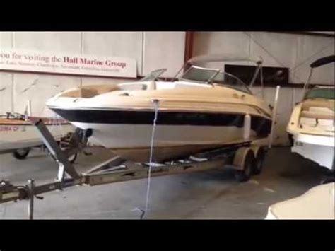 used boat trailers charlotte nc 2002 sea ray 220 sundeck w trailer used deck boat for