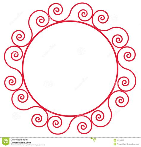 flower pattern in circle flower circle frame vector free floral text frame vector