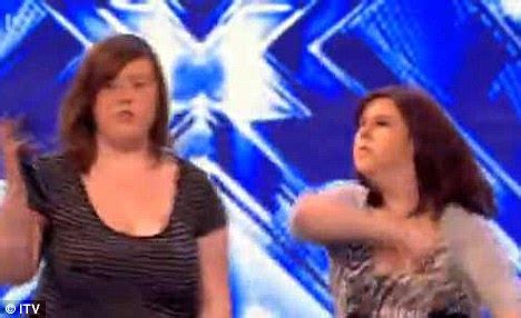 X Factor Autotune Scandal by X Factor 2010 Abbey Johnstone S Onstage Punch Up And How