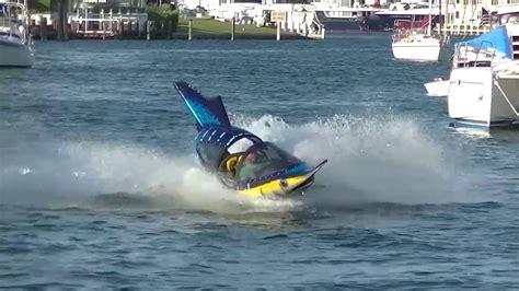 mini y boat cool mini submarine fish speedboat seabreacher youtube