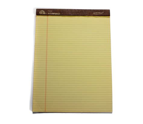 Softcase Notebook 10 Yellow Sign 128 yellow notepad neche collection