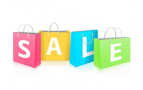 Sale Bag by Shopping Bags Illustrations On Creative Market