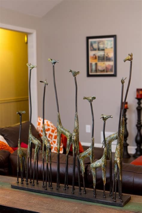 giraffe decorations for the home photos property brothers hgtv