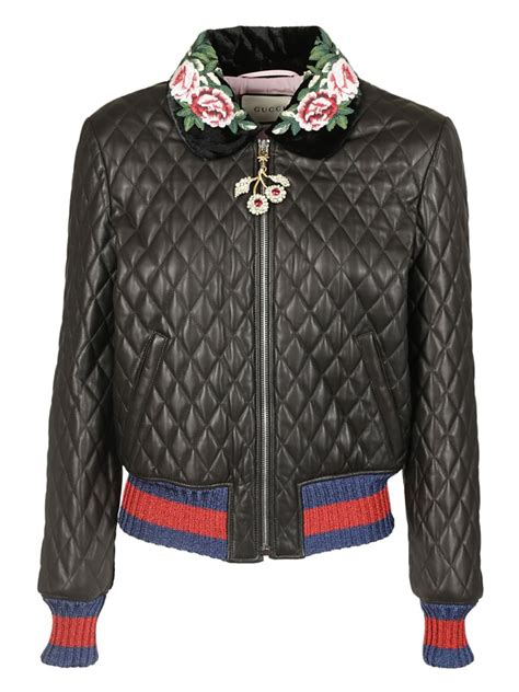 Jaket Gucci 2 gucci gucci quilted effect bomber jacket s jackets italist