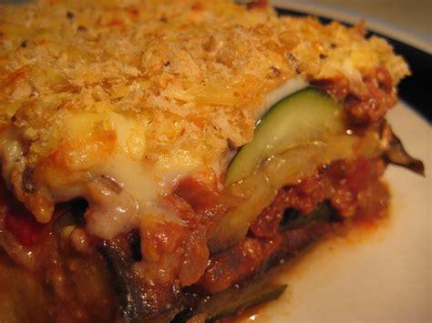 vegetarian eggplant moussaka recipe vegan moussaka