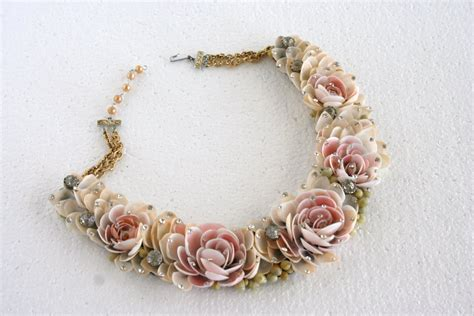 You Shell Pieces Necklace retro betty vintage jewelry shell necklaces