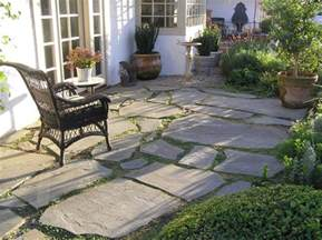 Stone Slate For Backyard French Patio Amp Slate Stepping Stones And Garden Walk With