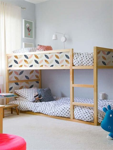 kids bedroom ideas pinterest mommo design new look for kura with stickers kids room