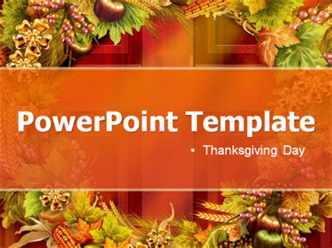 Free Thanksgiving Powerpoint Templates Download Free Thanksgiving Powerpoint Templates