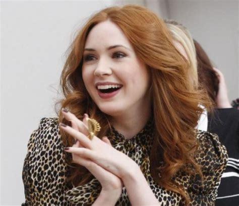 karen gillan songs doctor who s karen gillan i was bullied because of my red