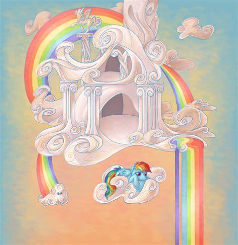 Rainbow Dash House by Equestria Daily Mlp Stuff 07 25 11