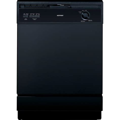 hotpoint front dishwasher in black hda3600hbb